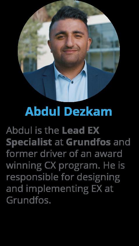Abdul Dezkam, Lead EX Specialist at Grundfos