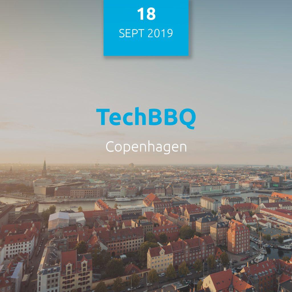 Bird's-eye view of Copenhagen